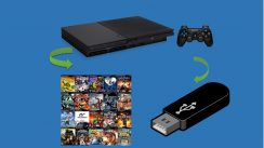 Como jogar games de play station 2 via pen drive